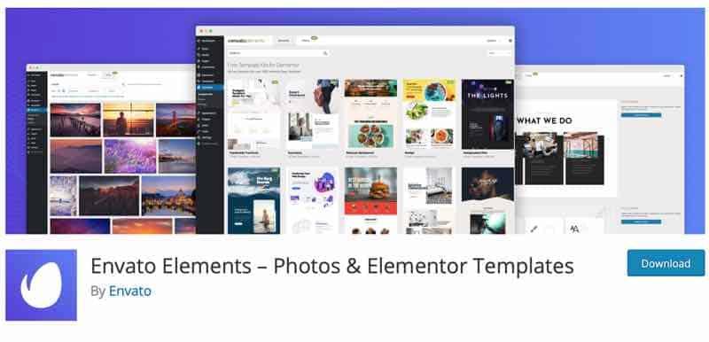 Elementor Addons: Envato Elements Kit